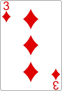 3 of diamonds